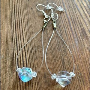 ❤️5 For $25 Illusion Style Crystal Earrings